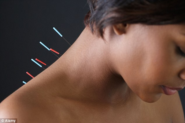 Acupuncturists believe that by inserting very fine needles into certain areas of the face - and also on the body - you can stimulate various energy points and encourage the body to heal itself from the inside