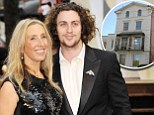 For James NYE  Photographer Sam Taylor-Wood with her husband Aaron Taylor-Johnson arrives at the 'Anna Karenina' Film Premiere in London,