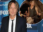 """HOLLYWOOD, CALIFORNIA - APRIL 07:  Keith Urban attends FOX's """"American Idol"""" finale for the farewell season at Dolby Theatre on April 7, 2016 in Hollywood, California.  (Photo by Jason LaVeris/FilmMagic)"""