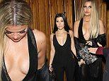 Kourtney Kardashian and Khloe Kardashian leave The Nice Guy after celebrating Gigi Hadid's birthday in West Hollywood, CA.  Pictured: Kourtney Kardashian and Khloe Kardashian Ref: SPL1272493  290416   Picture by: Photographer Group / Splash News  Splash News and Pictures Los Angeles: 310-821-2666 New York: 212-619-2666 London: 870-934-2666 photodesk@splashnews.com