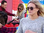 28 April 2016 - Carlsbad, CA - USA\n**STRICTLY AVAILABLE FOR UK AND GERMANY USE ONLY**\n*EXCLUSIVE ALL ROUND PICTURES* \nExes Hilary Duff and Mike Comrie play happy family while spending time together with their son Luca Comrie (not pictured) at Legoland in Carlsbad, CA. Hilary and Mike were seen both riding different rides with their son including the Splash Battle, the Fun Town Police Fire Academy and the Flight squadron. During the Fun Town Police and Fire Academy, Mike and Hilary had to work together to help Luca move a firetruck down a lane and then splash a wall and put out a 'fire'. While Hilary and her son rode the Flight Squadron, Mike snapped some pictures of them on his phone. The family seemed to have a really great time together. Hilary and Mike seemed to get along really well, despite being divorced.\nBYLINE MUST READ : AKM-GSI-XPOSURE\n***UK CLIENTS - PICTURES CONTAINING CHILDREN PLEASE PIXELATE FACE PRIOR TO PUBLICATION ***\n*UK CLIENTS MUST CALL PRIOR TO TV OR ONLINE
