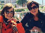 krisjennerMary Jo is so cute! What a great day in La Jolla visiting my Mom... #MaryJo #love #memories #mom #sheissocute #LaJolla