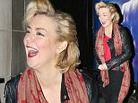 SHERIDAN SMITH SEEN LEAVING THE SAVOY THEATRE IN LONDON AFTER HER FRIDAY NIGHT PERFORMANCE IN FUNNY GIRL. SHERIDAN WAS LOOKING VERY EMOTIONAL WHEN LEAVING AND WAS GREETED BY WAITING FANS. FRIDAY 29TH APRIL 2016 - MAGICMOMENTSUK - 07753 30 30 77