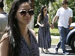 Studio City, CA - Olivia Munn and boyfriend Aaron Rodgers spend some quality time at the farmer's market. The duo are seen strolling hand in hand with Olivia looking especially ready for Spring in a halter dress and metallic sneakers.\nAKM-GSI       May 1, 2016\nTo License These Photos, Please Contact :\nSteve Ginsburg\n(310) 505-8447\n(323) 423-9397\nsteve@akmgsi.com\nsales@akmgsi.com\nor\nMaria Buda\n(917) 242-1505\nmbuda@akmgsi.com\nginsburgspalyinc@gmail.com
