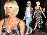 Taylor Swift looks striking rocking a punk look with a plaid dress and gothic boots as she heads out clubbing in NYC.\n\nPictured: Taylor Swift\nRef: SPL1273633  010516  \nPicture by: Splash News\n\nSplash News and Pictures\nLos Angeles: 310-821-2666\nNew York: 212-619-2666\nLondon: 870-934-2666\nphotodesk@splashnews.com\n