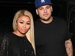 FILE - APRIL 05:  TV personalities Rob Kardashian and Blac Chyna are reportedly engaged after three months of dating. ATLANTA, GA - MARCH 27:  Blac Chyna and Rob Kardashian at Onyx Nightclub on March 27, 2016 in Atlanta, Georgia.  (Photo by Prince Williams/WireImage)