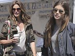 EXCLUSIVE TO INF.\nMay 1, 2016: Cindy Crawford and daughter Kaia make a shopping trek to Malibu Farmers Market in Malibu, California. The gorgeous duo were seen shopping for pastries.\nMandatory Credit: Borisio/INFphoto.com Ref: infusla-277