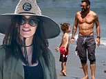 Picture Shows: Megan Fox, Noah Green  April 30, 2016\n \n Actress Megan Fox was seen spending time with her husband, Brian Austin Green, and their two boys, Bodhi and Noah Green, at Paradise Cove in Malibu, California. Megan and Brian recently discovered that they were pregnant with their third child.\n \n Non-Exclusive\n UK RIGHTS ONLY\n \n Pictures by : FameFlynet UK © 2016\n Tel : +44 (0)20 3551 5049\n Email : info@fameflynet.uk.com