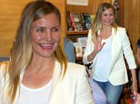 """PASADENA, CA - APRIL 30:  Cameron Diaz attends Book Signing For """"The Longevity Book"""" For Independent Book Store Day at Vroman's Bookstore on April 30, 2016 in Pasadena, California.  (Photo by Unique Nicole/Getty Images)"""
