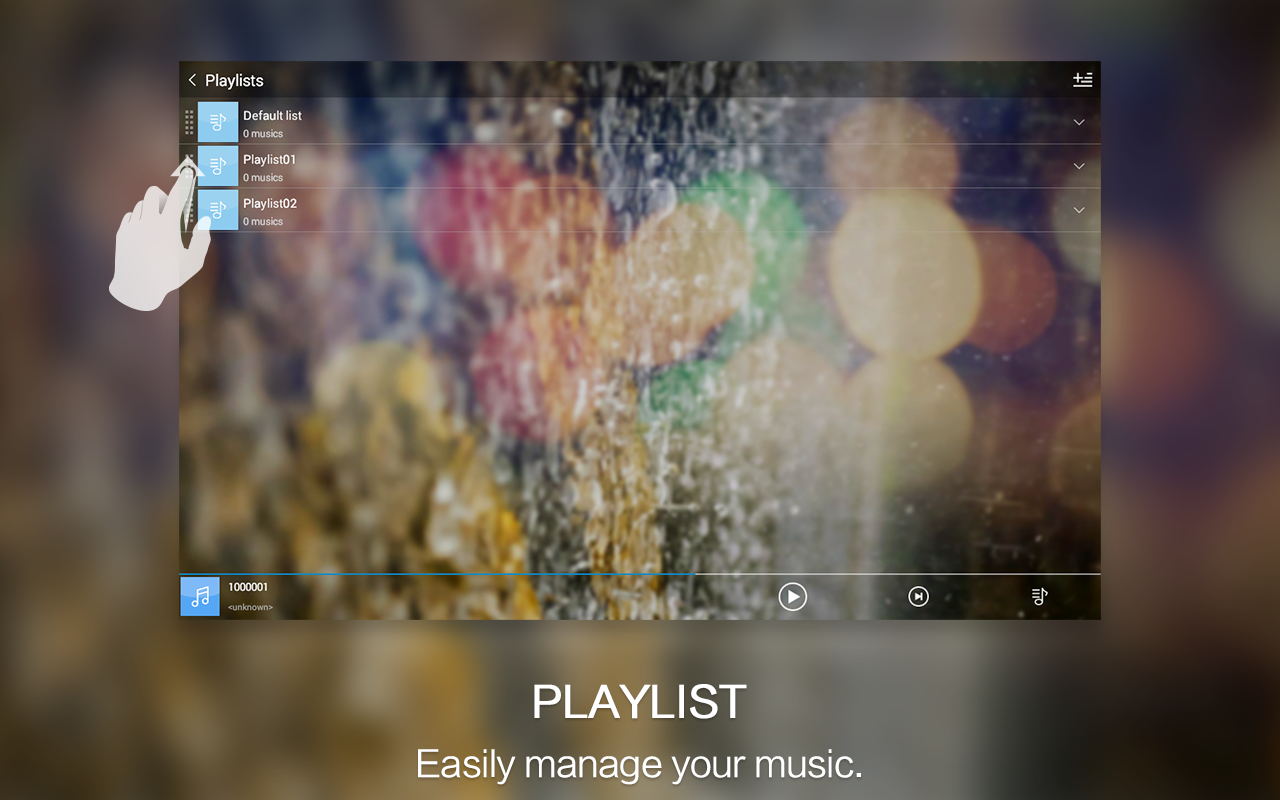 Music Player - Audio Player- screenshot