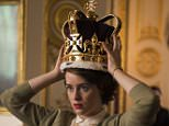 Television programme: The Crown. Pic shows:- Claire Foy as Queen Elizabeth II