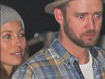 *EXCLUSIVE* Malibu, CA - Justin Timberlake and Jessica Biel were spotted saying goodbye to friends after eating a dinner at Nobu Malibu. Justin saluted one of his friends off as he and Jessica waited for their car. The couple looked casual and comfy while with friends and seemed to be pretty close as they hopped in the car.  AKM-GSI      April 30, 2016 To License These Photos, Please Contact : Steve Ginsburg (310) 505-8447 (323) 423-9397 steve@akmgsi.com sales@akmgsi.com or Maria Buda (917) 242-1505 mbuda@akmgsi.com ginsburgspalyinc@gmail.com