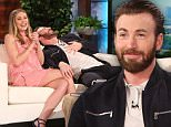 eURN: AD*204730133  Headline: Stars of the new film ?Captain America: Civil War? CHRIS EVANS and ELIZABETH OLSEN join ?The Ellen DeGeneres Show? on Monday, May 2nd.   Before the show while Elizabeth was still in her dressing room, Chris was hiding in the bathroom and gave her a very good scare! Chris and Elizabeth talk to Ellen about their new film and how much Chris loves to scare people, which was the perfect time for Ellen to then scare Chris with a staffer dressed as Ironman! Plus, Chris and Elizabeth play a fun game called ?Just Dance?  and compete to win $10,000 from Shutterfly for his charity of choice Christopher?s Haven. Caption: Rozman_160428_431r.jpg Photographer: Michael Rozman\n Loaded on 01/05/2016 at 22:19 Copyright: WARNER BROS Provider: Michael Rozman / Warner Bros.  Properties: RGB JPEG Image (17579K 1047K 16.8:1) 3000w x 2000h at 300 x 300 dpi  Routing: DM News : News (EmailIn) DM Showbiz : SHOWBIZ (Miscellaneous) DM Online : Online Previews (Miscellaneous), CMS Out