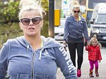 Picture Shows: Kerry Katona, DJ Kay, Dylan Jorge Kay  May 3rd, 2016    **Min web / online fee £250 For Set **    Bankrupt Kerry Katona is seen making her way to the bank along with her youngest daughter Dylan Jorge (known as DJ) in Sussex, England.    The singer was casually dressed in gym gear and a pair of bright pink trainers.    **Min web / online fee £250 For Set **    Exclusive All Rounder  WORLDWIDE RIGHTS  Pictures by : FameFlynet UK © 2016  Tel : +44 (0)20 3551 5049  Email : info@fameflynet.uk.com