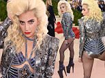 Mandatory Credit: Photo by David Fisher/REX/Shutterstock (5669034dq)\nLady Gaga\nThe Metropolitan Museum of Art's COSTUME INSTITUTE Benefit Celebrating the Opening of Manus x Machina: Fashion in an Age of Technology, Arrivals, The Metropolitan Museum of Art, NYC, New York, America - 02 May 2016\n