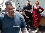 Hollywood Superstar Tom Hardy filming 'Taboo' on location in Charlestown Harbour in Cornwall. Tom was happy using his Vapour as he is trying to quit smoking and he was showing off his tattoos and muscles to one of his co stars..\n\nPictured: Tom Hardy\nRef: SPL1273441  030516  \nPicture by: George Bamby / Splash\n\nSplash News and Pictures\nLos Angeles: 310-821-2666\nNew York: 212-619-2666\nLondon: 870-934-2666\nphotodesk@splashnews.com\n