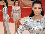 Mandatory Credit: Photo by David Fisher/REX/Shutterstock (5669034fp)\nKIm Kardashian\nThe Metropolitan Museum of Art's COSTUME INSTITUTE Benefit Celebrating the Opening of Manus x Machina: Fashion in an Age of Technology, Arrivals, The Metropolitan Museum of Art, NYC, New York, America - 02 May 2016\n