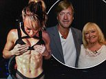 Chloe Madeley instagram post showing a ripped stomach.