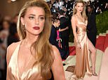 """NEW YORK, NY - MAY 02:  Amber Heard attends """"Manus x Machina: Fashion In An Age Of Technology"""" Costume Institute Gala at Metropolitan Museum of Art on May 2, 2016 in New York City.  (Photo by Kevin Mazur/WireImage)"""