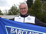 LEICESTER, ENGLAND - MAY 03:   Leicester City manager, Claudio Ranieri celebrates winning the Premier League Title during a training session  at the Leicester City Training Ground on May 3, 2016 in Leicester, United Kingdom.  (Photo by Plumb Images/Leicester City FC via Getty Images)  ***BESTPIX**