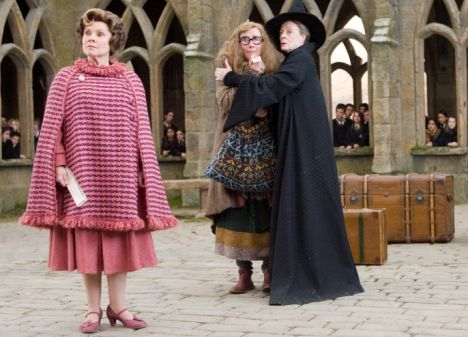 Who are you calling an ugly toad: Imelda Staunton was told she would be 'perfect' as Dolores Umbrage in Harry Potter