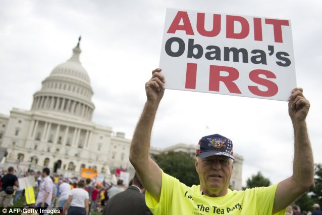 Tea party activists have insisted that during the 2010 election year, the IRS placed some of their nonprofit groups on hold for more than three years while liberal organizations were quickly given tax-exempt status