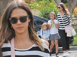 Picture Shows: Haven Warren, Honor Warren, Jessica Alba  May 03, 2016\n \n 'Dark Angel' actress Jessica Alba visits her friend in Beverly Hills, California.  Accompanying her were Jessica's two daughters Honor and Haven Warren. \n \n Non-Exclusive\n UK RIGHTS ONLY\n \n Pictures by : FameFlynet UK © 2016\n Tel : +44 (0)20 3551 5049\n Email : info@fameflynet.uk.com