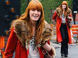Picture Shows: Florence Welch  May 04, 2016\n \n 'Florence And The Machine' singer Florence Welch and a friend were spotted out for a stroll in New York City, New York. Florence has been enjoying her time in New York after attending the MET Gala.\n \n Non-Exclusive\n UK RIGHTS ONLY\n \n Pictures by : FameFlynet UK © 2016\n Tel : +44 (0)20 3551 5049\n Email : info@fameflynet.uk.com