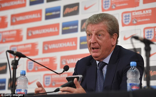 Making his point: Hodgson believes much of Shaw's issues are to do with the fact he is young