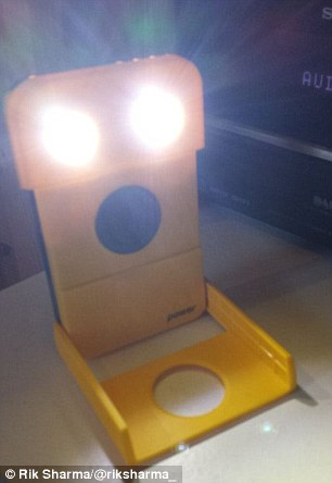 Shining bright: Waka Waka is a solar powered lamp that's great for festivals