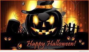 happy halloween black pumpkin images