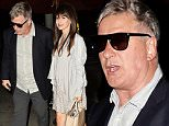 West Hollywood, CA - Alec Baldwin and his wife Hilaria arrive for dinner at Craig's in West Hollywood with no confrontations with the paparazzi.\n \n AKM-GSI   May  4, 2016\nTo License These Photos, Please Contact :\nSteve Ginsburg\n(310) 505-8447\n(323) 423-9397\nsteve@akmgsi.com\nsales@akmgsi.com\nor\nMaria Buda\n(917) 242-1505\nmbuda@akmgsi.com\nginsburgspalyinc@gmail.com