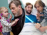 MANDATORY BYLINE: Jon Furniss / Corbis\nMark Hamill meets Naheem Abidoye at the ICAP MediCinema, Guy's Hospital, London celebrating Star Wars Day for Force for Change\nMark Hamill meets patients at the ICAP MediCinema, Guy's Hospital on Star Wars Day\n#ForceForChange #StarWarsDay\nToday the Force was strong inside the ICAP MediCinema at Guy's Hospital in London, where Mark Hamill, who plays Luke Skywalker in the Star Wars saga, surprised patients at MediCinema's special #May the 4th (also known to fans as Star Wars Day) screening of Star Wars: The Force Awakens.\nThe highest grossing film of all time in the UK was shown to patients and their families within the ICAP MediCinema at Guy's in collaboration with Force for Change charitable initiatives taking place across the world this Star Wars Day.\nMark Hamill visited patients before the special screening, along with droids R2-D2, C-3P0 and BB-8, creating an out of this world experience for patients visiting the MediCinema. Before t