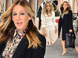eURN: AD*205046703  Headline: Celebrity Sightings in New York City - May 5, 2016 Caption: NEW YORK, NY - MAY 05:  Sarah Jessica Parker is seen walking out of the ABC Studio  on May 5, 2016 in New York City.  (Photo by Raymond Hall/GC Images) Photographer: Raymond Hall  Loaded on 04/05/2016 at 19:39 Copyright:  Provider: GC Images  Properties: RGB JPEG Image (13938K 2829K 4.9:1) 1762w x 2700h at 300 x 300 dpi  Routing: DM News : GroupFeeds (Comms), GeneralFeed (Miscellaneous) DM Showbiz : SHOWBIZ (Miscellaneous) DM Online : Online Previews (Miscellaneous), CMS Out (Miscellaneous)  Parking: