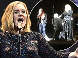 Singer Adele performs on stage at the SSE Arena Belfast on February 29, 2016 in Belfast, Northern Ireland.   BELFAST, NORTHERN IRELAND - FEBRUARY 29:   (Photo by Gareth Cattermole/Getty Images)