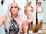 jkpix lottie tomlinson shooting her first campaign for lipsy