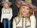 """MIAMI, FL - MAY 05:  Chloe Grace Moretz is seen on the set of Univision's """"Despierta America"""" to promote the film """"Neighbors 2: Sorority Rising""""  at Univision Studios on May 5, 2016 in Miami, Florida.  (Photo by John Parra/Getty Images)"""