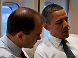 President Barack Obama talks with Ben Rhodes, Deputy National Security Advisor for Strategic Communications, aboard Air Force One en route to New York, N.Y., to commemorate the tenth anniversary of the 9/11 attacks against the United States, Sunday, Sept. 11, 2011. (Official White House Photo by Pete Souza)\n\nThis official White House photograph is being made available only for publication by news organizations and/or for personal use printing by the subject(s) of the photograph. The photograph may not be manipulated in any way and may not be used in commercial or political materials, advertisements, emails, products, promotions that in any way suggests approval or endorsement of the President, the First Family, or the White House.   Ben Rhodes for David Martosko