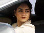 West Hollywood, CA - Vanessa Hudgens rocks out to some music in her car while waiting at a stoplight. The is flaunting lots of ear jewelry today along with a mostly neutral outfit. \nAKM-GSI      May 6, 2016\nTo License These Photos, Please Contact :\nSteve Ginsburg\n(310) 505-8447\n(323) 423-9397\nsteve@akmgsi.com\nsales@akmgsi.com\nor\nMaria Buda\n(917) 242-1505\nmbuda@akmgsi.com\nginsburgspalyinc@gmail.com