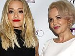 "NEW YORK, NY - MAY 03:  Rita Ora and mom Vera Sahatciu attend VH1's ""Dear Mama"" Taping at St. Bartholomew's Church on May 3, 2016 in New York City.  (Photo by Laura Cavanaugh/FilmMagic)"