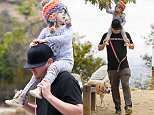 EXCLUSIVE. COLEMAN-RAYNER.\nLos Angeles, CA, USA. May 5, 2016. \nChanning Tatum gives adorable daughter Everly a piggyback on his shoulders as the 2 year-old tried to grab hanging leaves from a tree. Everly's mother Jenna Dewan later grabbed a leaf to give to the toddler who is turning 3 on May 31st. \nCREDIT LINE MUST READ: Coleman-Rayner.\nTel US (001) 310-474-4343- office\nTel US (001) 323-545-7584 - Mobile\nwww.coleman-rayner.com