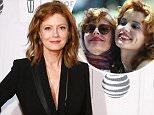 """NEW YORK, NY - APRIL 19: Actress Susan Sarandon attends the premiere of """"The Meddler"""" at Borough of Manhattan Community College during the 2016 TriBeCa Film Festival on April 19, 2016 in New York City.  (Photo by Taylor Hill/Getty Images,)"""