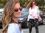 Picture Shows: Minka Kelly  May 06, 2016\n \n Actress Minka Kelly gets her nails done at Marie Nails in West Hollywood, California.  She wore a white shirt and patterned leggings.\n \n Non-Exclusive\n UK RIGHTS ONLY\n \n Pictures by : FameFlynet UK © 2016\n Tel : +44 (0)20 3551 5049\n Email : info@fameflynet.uk.com