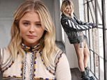 MIAMI, FL - MAY 5:  Chloe Grace Moretz is seen on the set of 'Despierta America' to promote the film 'Neighbors 2 Sorority Rising' at Univision Studios on May 5, 2016 in Miami, Florida.  (Photo by Alexander Tamargo/WireImage)