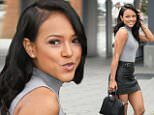 eURN: AD*205149488  Headline: Karrueche Tran shows off toned legs and her smile at Universal Studios in Hollywood Caption: HOLLYWOOD, CA - May 5: Karrueche Tran shows off toned legs and her smile at Universal Studios in Hollywood on May 5, 2016.  Pictured: Karrueche Tran Ref: SPL1276120  050516   Picture by: @Parisa  Splash News and Pictures Los Angeles: 310-821-2666 New York: 212-619-2666 London: 870-934-2666 photodesk@splashnews.com  Photographer: @Parisa Loaded on 05/05/2016 at 20:35 Copyright: Splash News Provider: @Parisa  Properties: RGB JPEG Image (31779K 2314K 13.7:1) 2800w x 3874h at 72 x 72 dpi  Routing: DM News : GroupFeeds (Comms), GeneralFeed (Miscellaneous) DM Showbiz : SHOWBIZ (Miscellaneous) DM Online : Online Previews (Miscellaneous), CMS Out (Miscellaneous)  Parking: