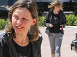 LOS ANGELES, CA - MAY 06: Calista Flockhart is seen on May 06, 2016 in Los Angeles, California.  (Photo by Bauer-Griffin/GC Images)
