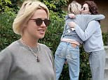 "Exclusive... 52046670 Actress, Kristen Stewart, is spotted in Los Feliz, California on May 6, 2016. It has recently been reported that Kristen and her girlfriend, Stephanie ""Soko"" Sokolinski, split up after rumors of Kristen Stewart and Stella Maxwell getting friendly at the Met Gala after-party. She was seen with a friend and was trying to evade the photographers. FameFlynet, Inc - Beverly Hills, CA, USA - +1 (310) 505-9876"
