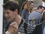 EXCLUSIVE: Lily James and Matt Smith seen on a balcony at a friends party in North London. Actor Douglas Booth was also seen at the party.  Pictured: Douglas Booth, Matt Smith Ref: SPL1271424  060516   EXCLUSIVE Picture by: Splash News  Splash News and Pictures Los Angeles: 310-821-2666 New York: 212-619-2666 London: 870-934-2666 photodesk@splashnews.com