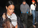 Rihanna covers up as she leaves The Nice Guy in Los Angeles, CA.\n\nPictured: Rihanna\nRef: SPL1276266  050516  \nPicture by: Photographer Group / Splash News\n\nSplash News and Pictures\nLos Angeles: 310-821-2666\nNew York: 212-619-2666\nLondon: 870-934-2666\nphotodesk@splashnews.com\n