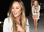 7 May 2016  - Newcastle  - UK *** EXCLUSIVE ALL ROUND PICTURES *** Charlotte Crosby Enjoys Night on the Toon with Friends - Her second night out in Newcastle in one week, this time she chose a quiet night as she went for food and cocktails at Fat Buddha Restaurant before hitting TigerTiger Nightclub where she booked a Karaoke Room for a few hours.  BYLINE MUST READ : XPOSUREPHOTOS.COM ***UK CLIENTS - PICTURES CONTAINING CHILDREN PLEASE PIXELATE FACE PRIOR TO PUBLICATION *** **UK CLIENTS MUST CALL PRIOR TO TV OR ONLINE USAGE PLEASE TELEPHONE  442083442007